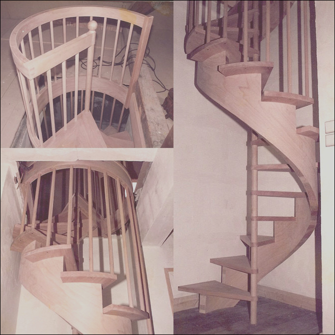 how to build a spiral staircase using stairdesigner