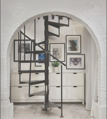 11 Terrific Spiral Staircase Moving Furniture Photos
