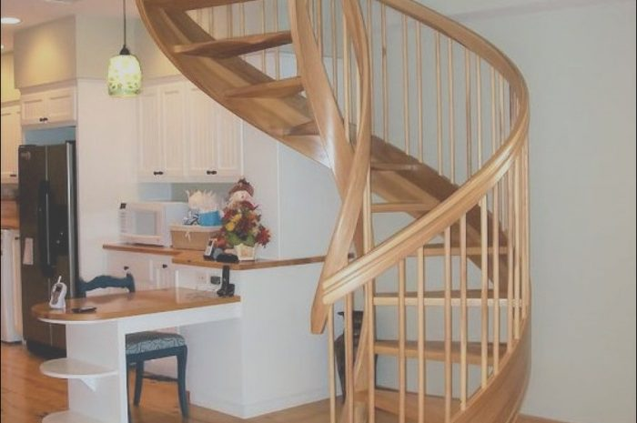 9 Expert Spiral Stairs Wooden Gallery