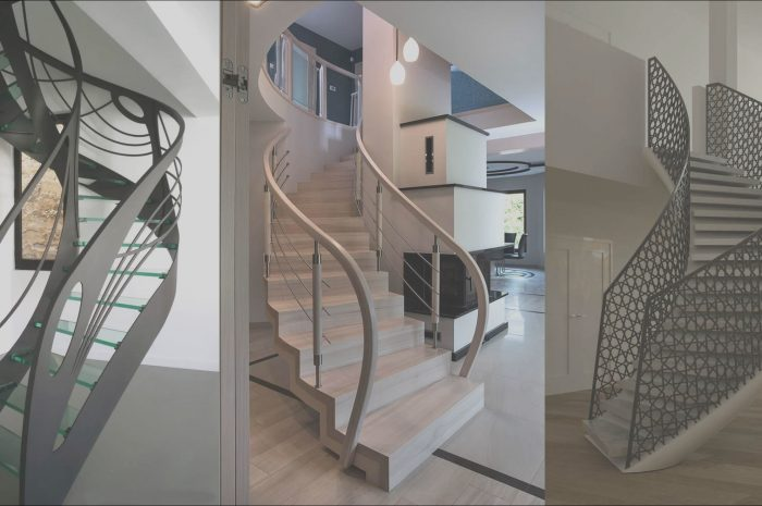 9 Interesting Staircase Design Grill Photos