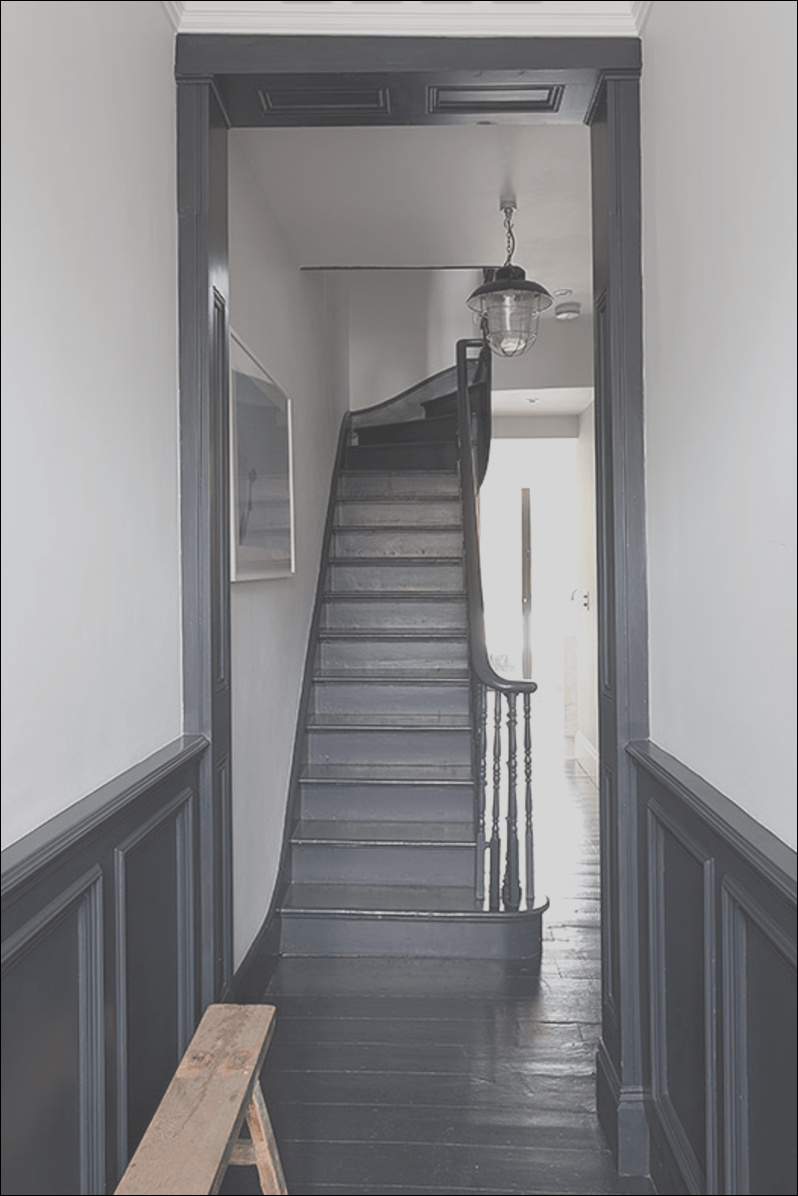 stair hallway planning inspiration