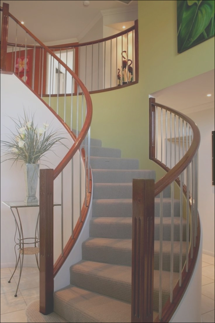 modern stair and railing design