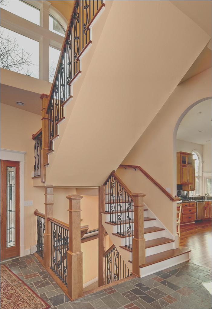 stair railing material options