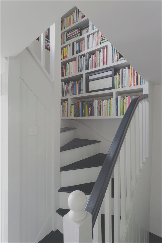 staircase bookcase the best place to store books