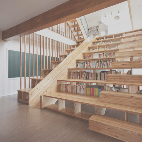 bookcase stairs designs
