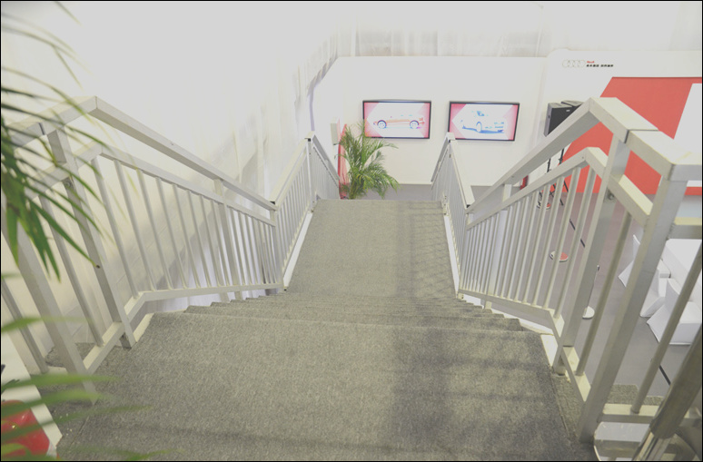 tent rental stairs