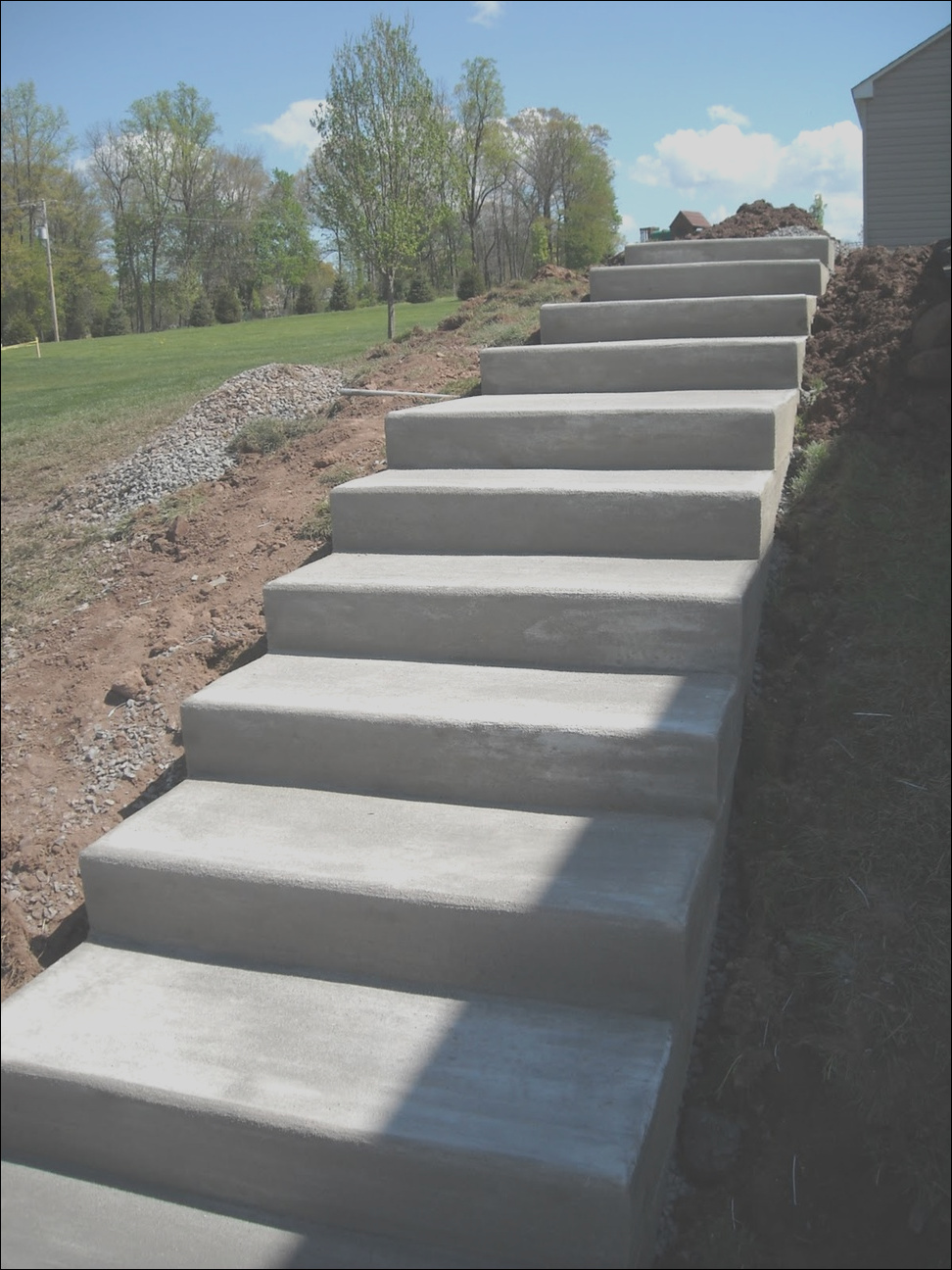 outdoor concrete stairs 2