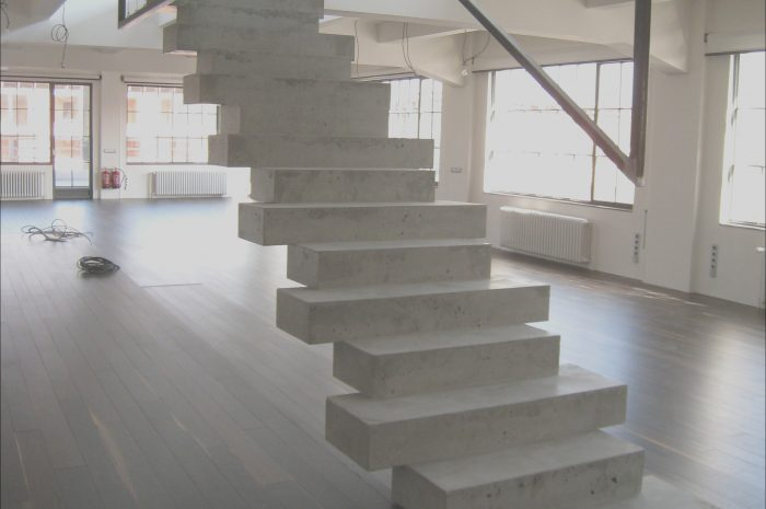 14 Pretty Stairs Concrete Design Gallery
