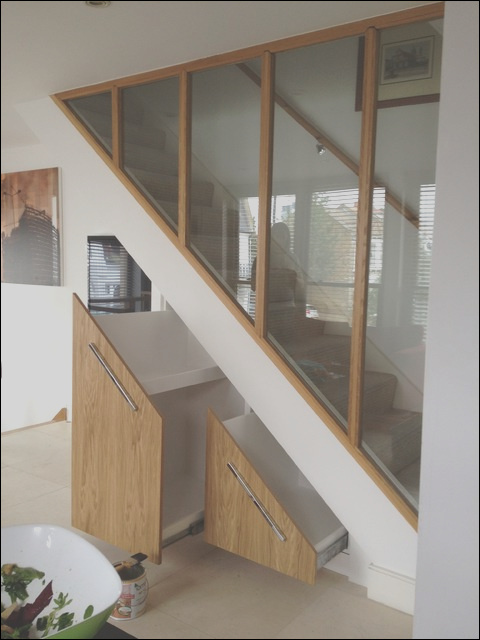 under stairs cupboard contemporary staircase other