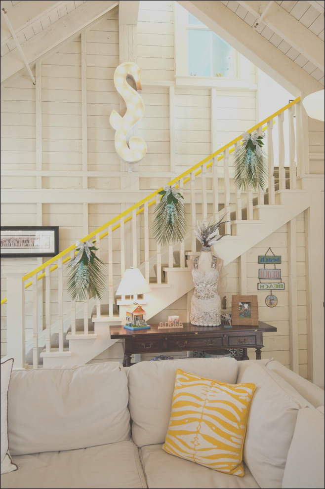 71 awesome christmas stairs decoration ideas