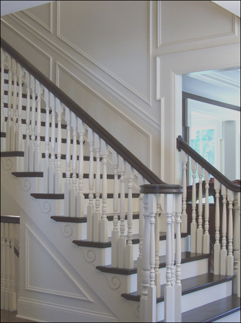timeless classic stair designs traditional staircase chicago