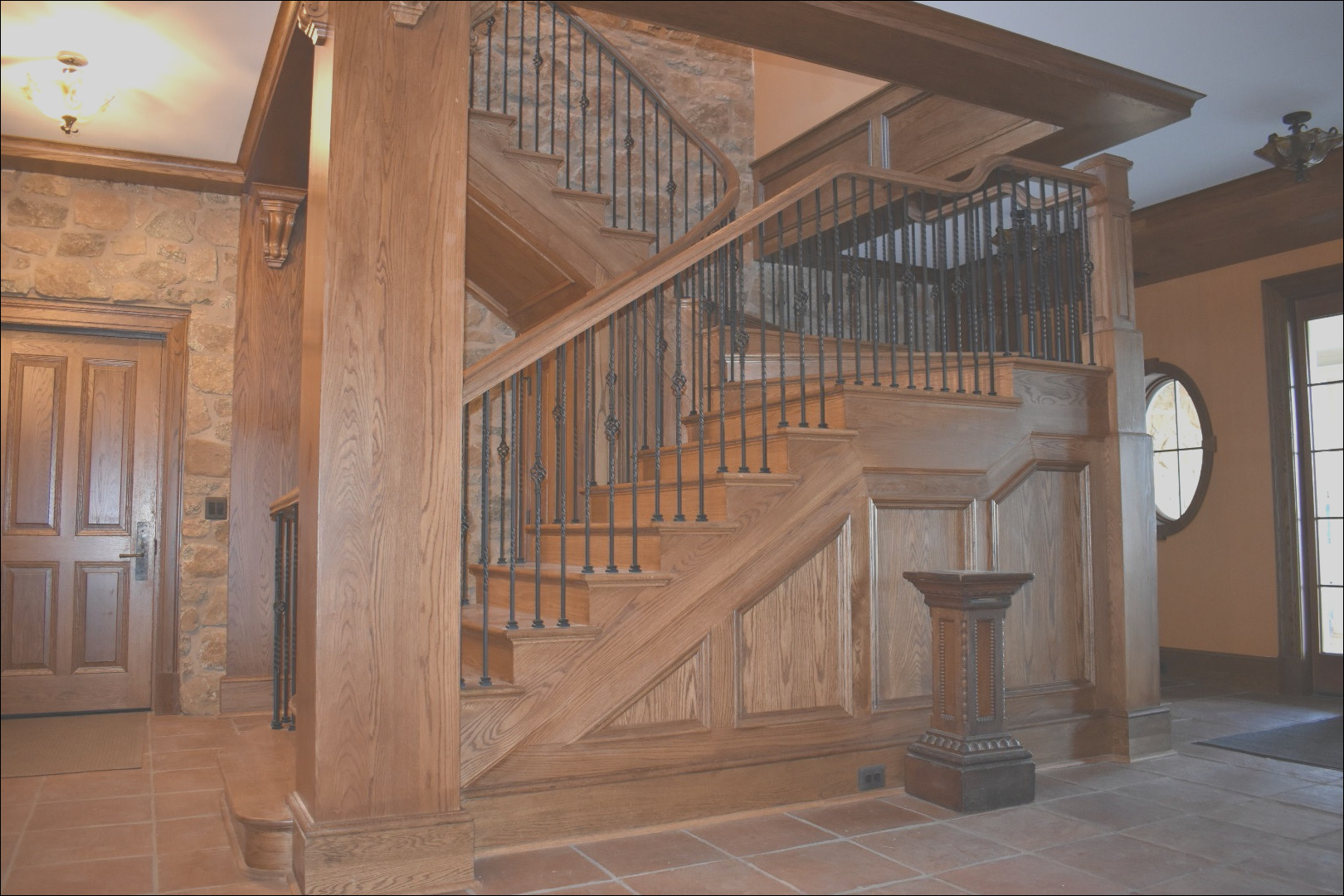 stair design photo of the month classic straight staircase