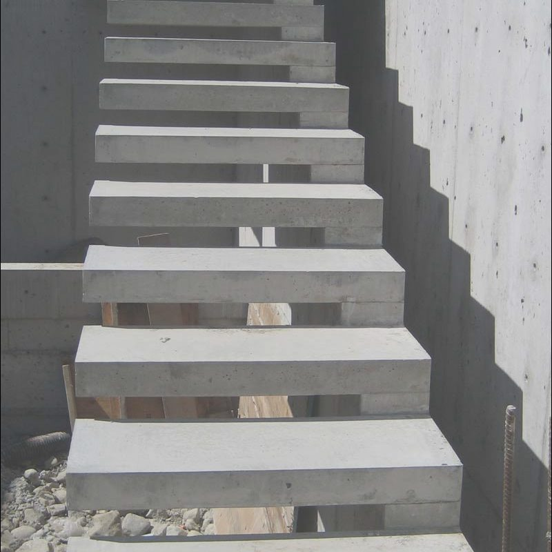 Stairs Design Concrete Luxury How to Build Cantilevered Concrete Stairs