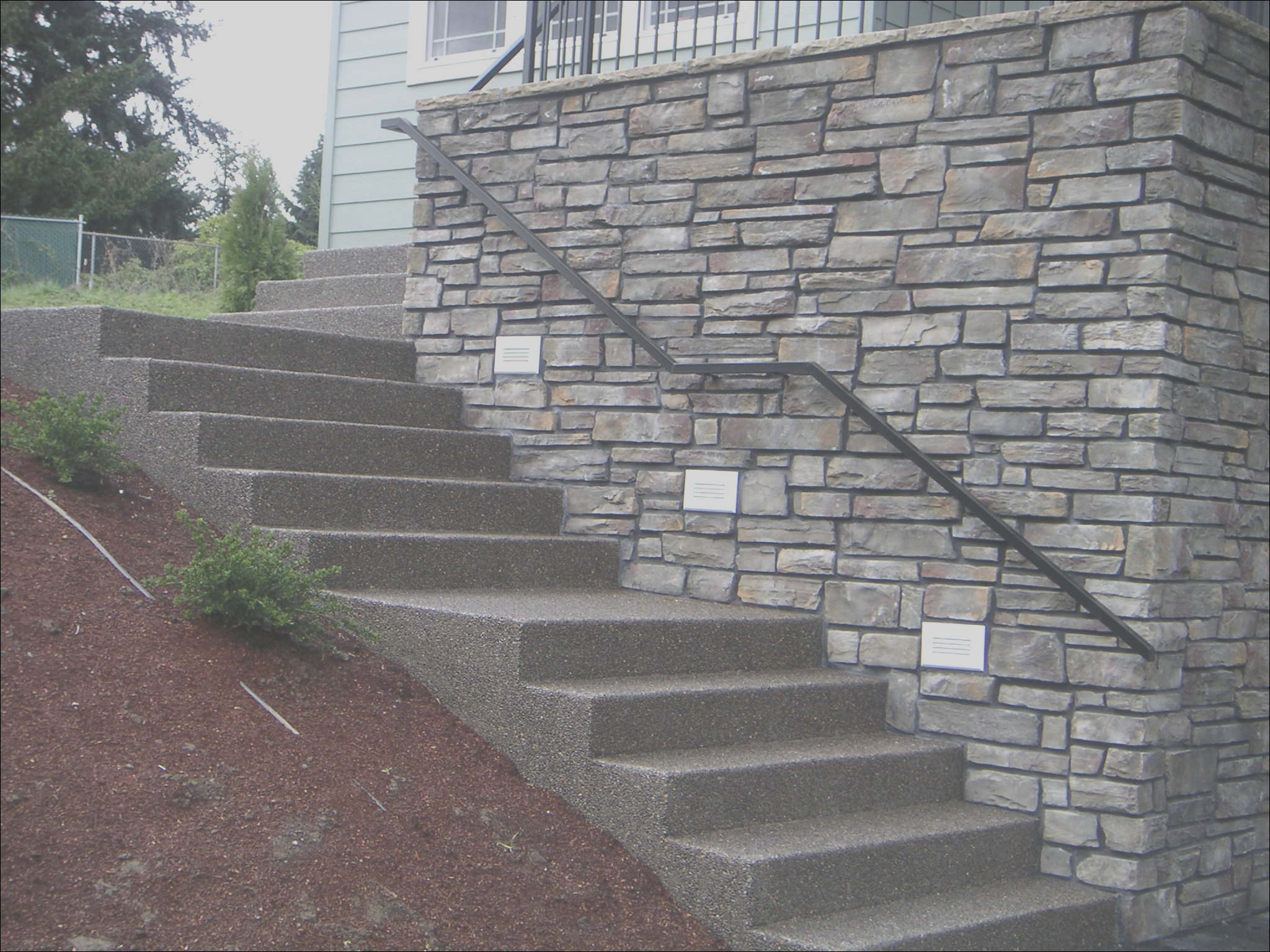 beautiful cement stairs 3 stairs concrete steps design