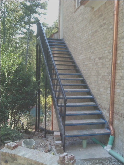 Spiral Staircase Metal Stairs contemporary outdoor products atlanta