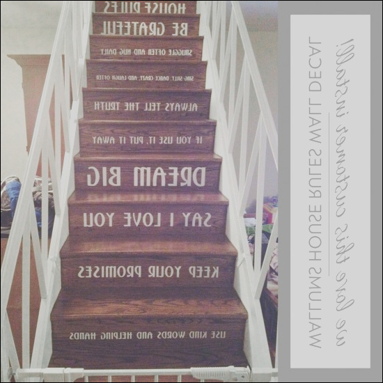 staircase house rules customer install
