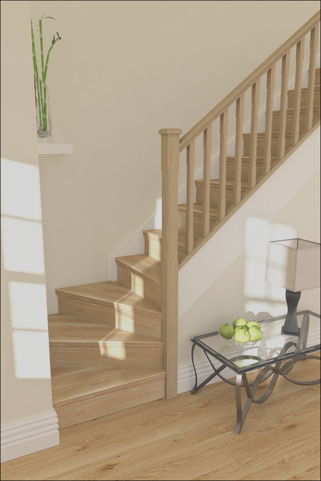 oak stair cladding traditional staircase phvw vp