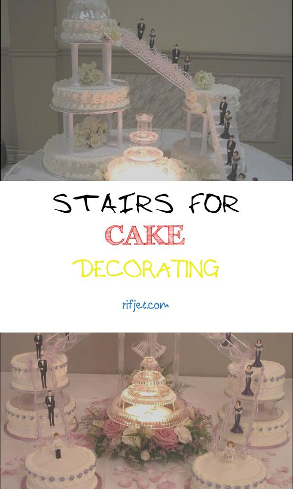 Stairs for Cake Decorating Fresh Wedding Cakes with Stairways