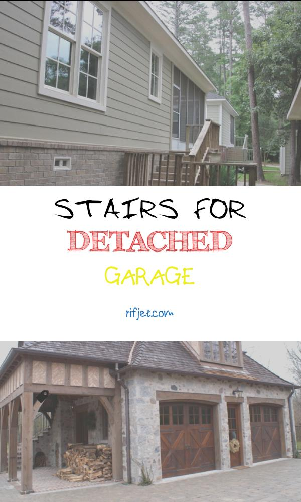 15 Awesome Stairs for Detached Garage Stock