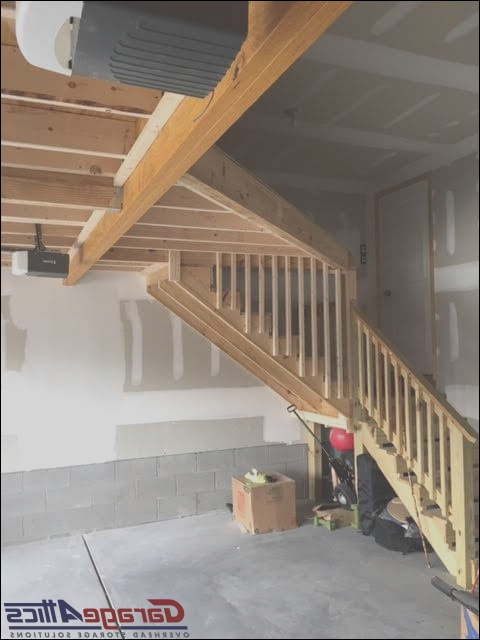 build stairs to garage attic