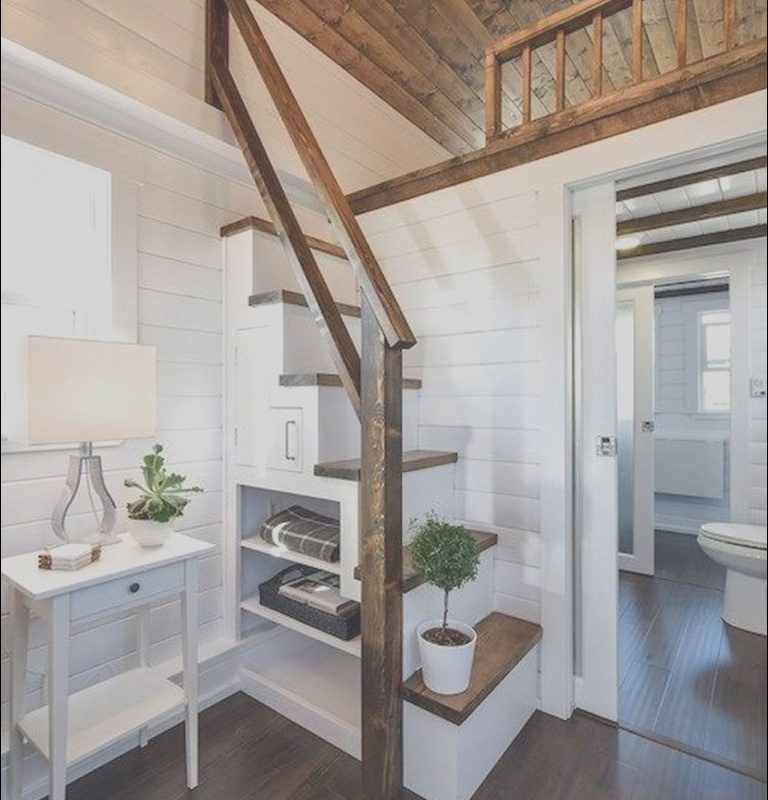 Stairs In Small House Ideas Inspirational 55 Inspiring Loft Stair for Tiny House Ideas