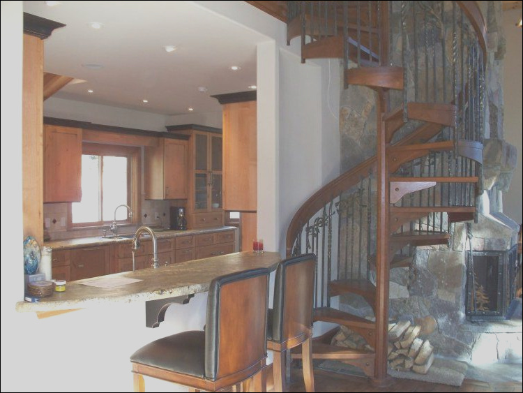 20 homes beautiful spiral staircase designs
