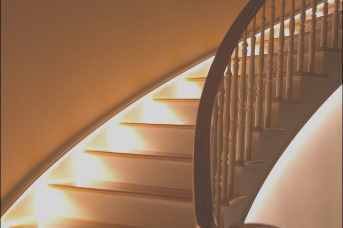 8 Pretty Stairs Light Design Stock
