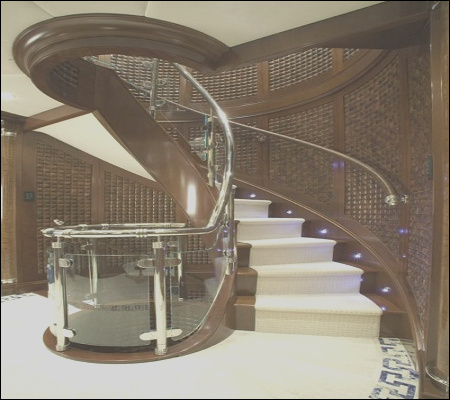 appeal of stunning marble staircase