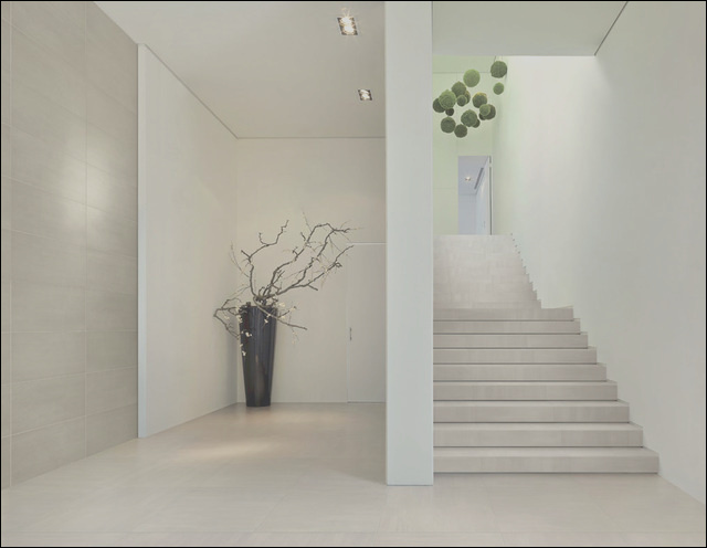 Refin Chromie Porcelain from Royal Stone and Tile modern staircase los angeles