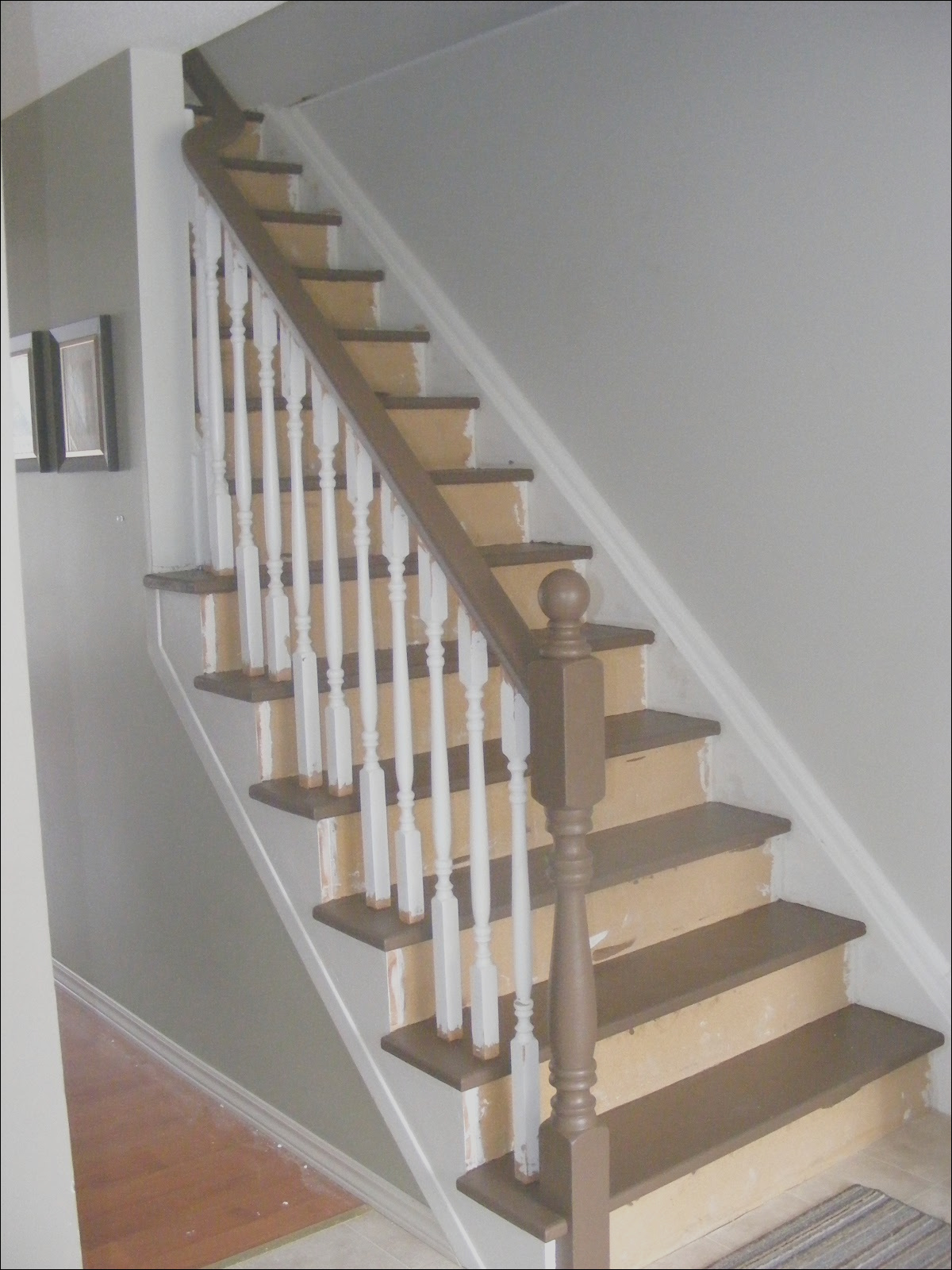 stair tread riser moudling ideas