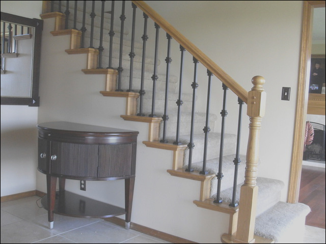 Baluster replacement traditional staircase portland
