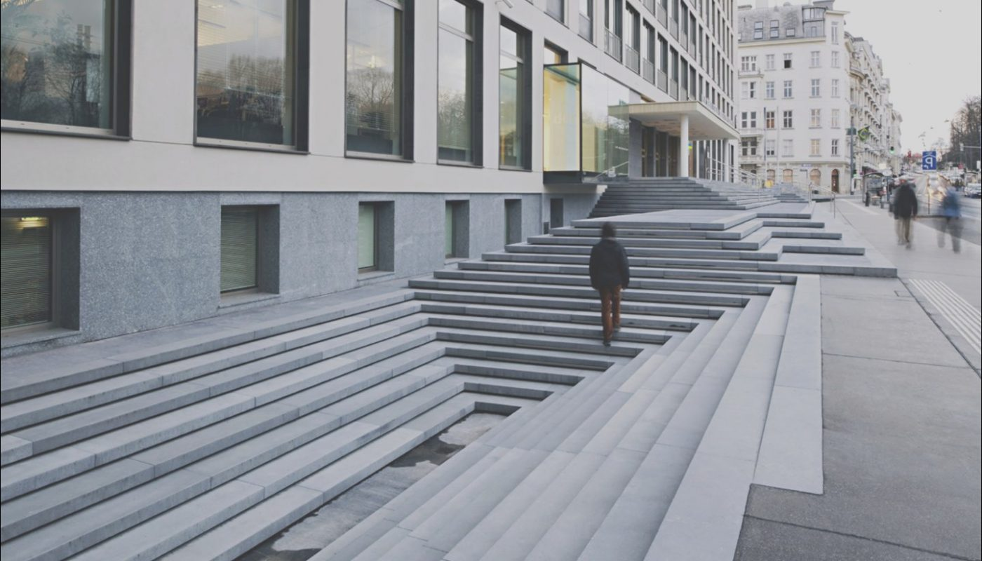 Stairs Urban Design Luxury Feld72 Hertha Hurnaus · Urban Landscape Stairs
