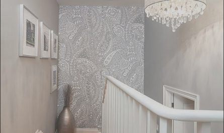 Stairs Wall Colour Ideas New 16 Fabulous Ideas that Bring Wallpaper to the Stairway