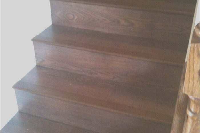 14 Creative Stairs Wood or Laminate Photos