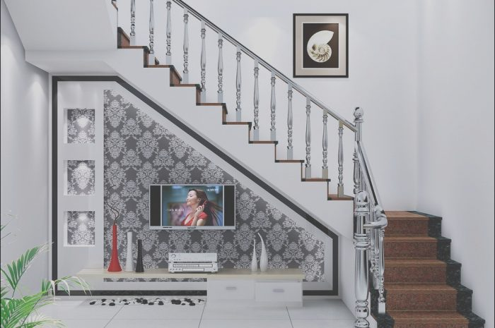 9 Luxurious Wall Under Stairs Decorating Ideas Images