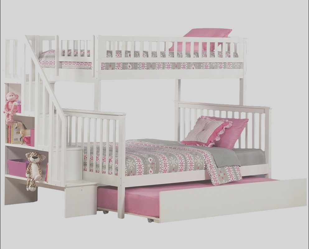 Wayfair Bunk Beds with Stairs Elegant atlantic Furniture Woodland Twin Over Full Bunk Bed with