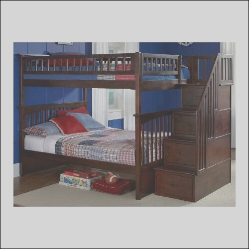 Atlantic Furniture Columbia Staircase Bunk Bed with Storage AB556 AB557 FY2931