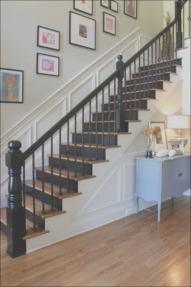 united states black stair runner staircase traditional with white giclee prints painted risers