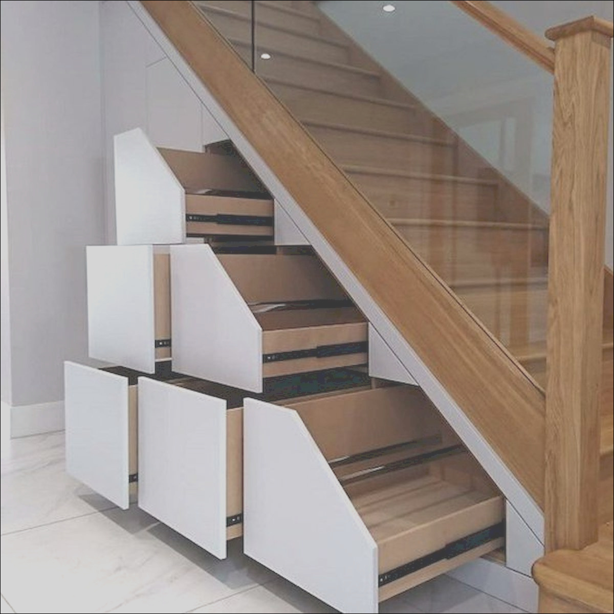30 stunning wooden stairs design ideas for your home