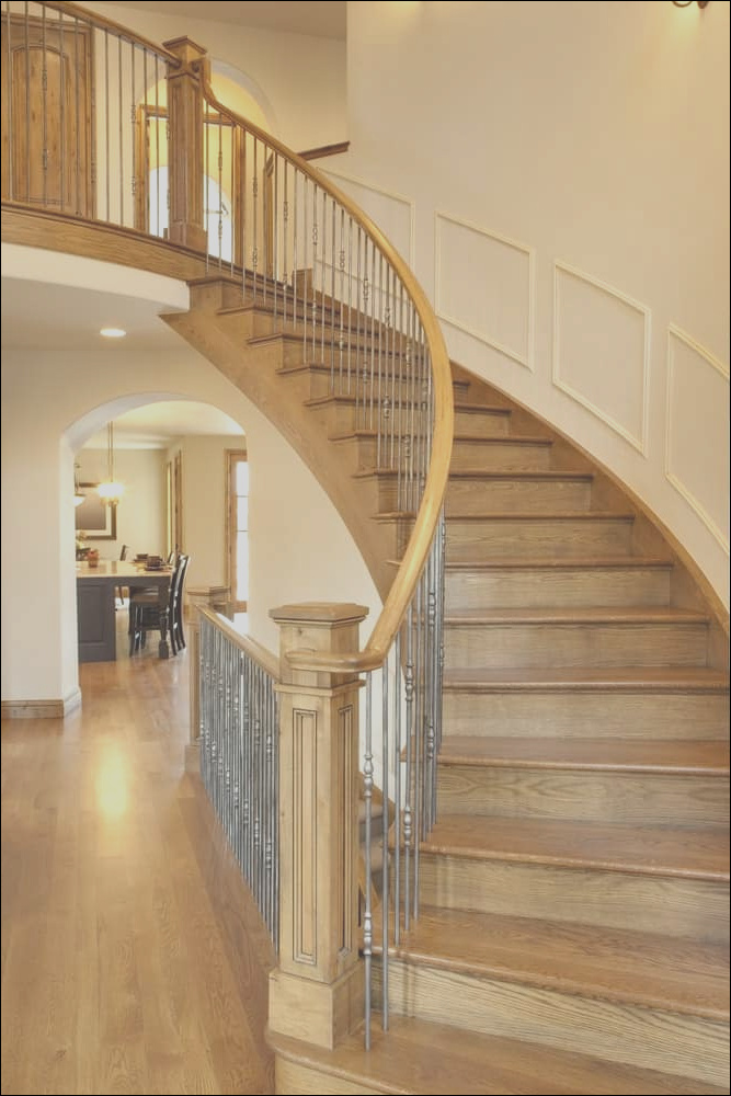 curved staircase ideas
