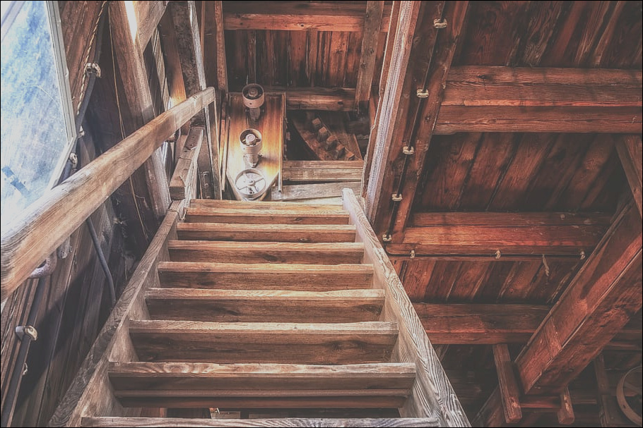 wooden stair maintenance at home