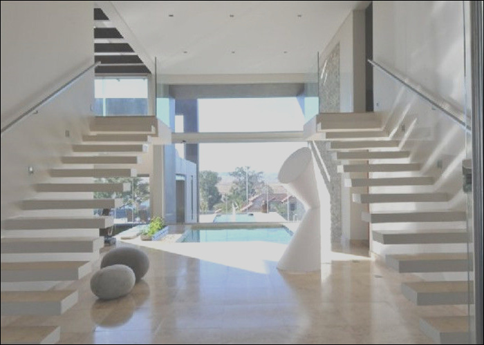 sale minimalist modern wooden staircase designs floating stairs with glass railing