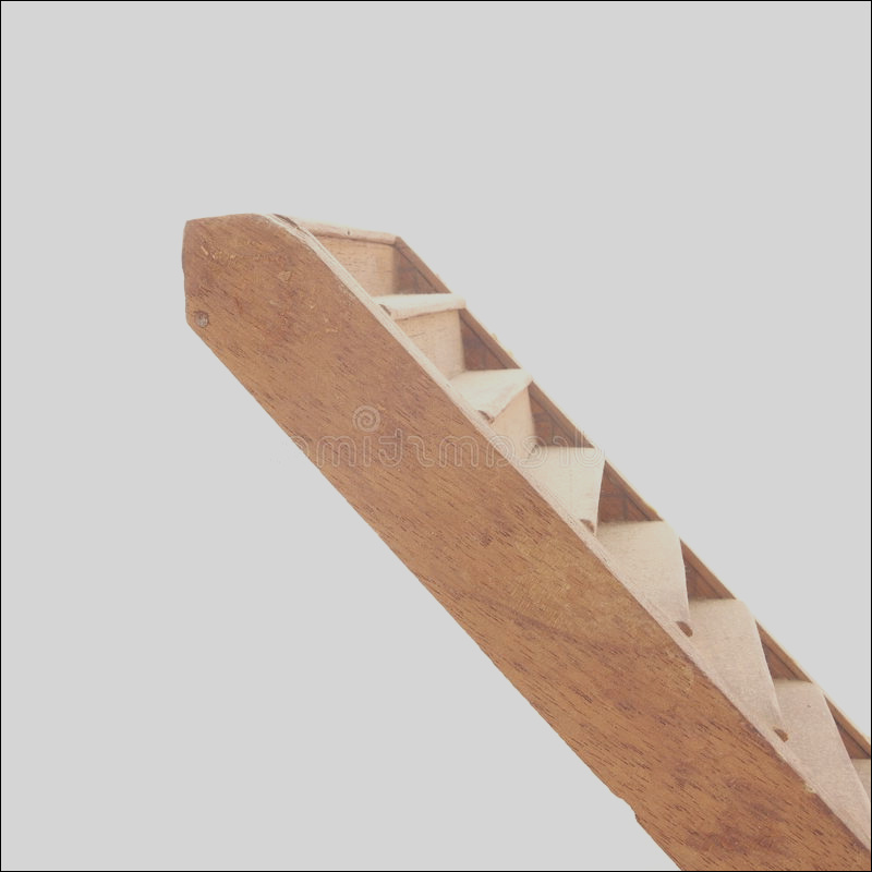 stock photo wooden stairs white background side view staircase rising bottom left to top right against image