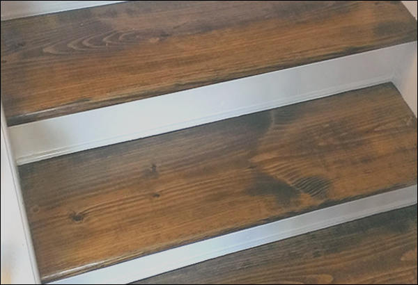 how to finish your stairs