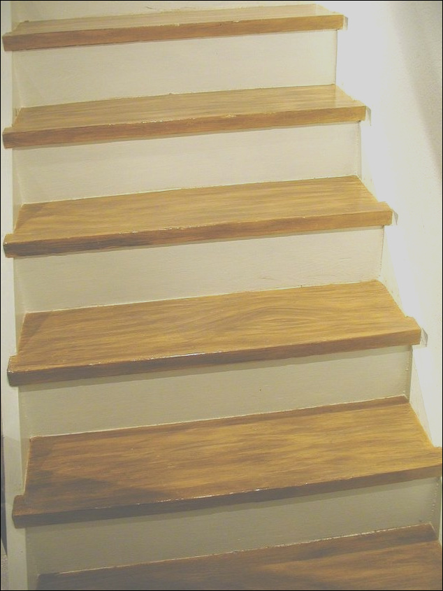 diy make your painted staircase look like real wood again expand all questions=1