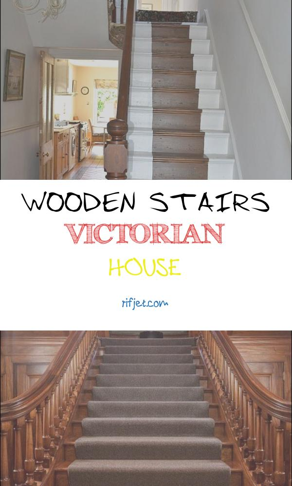 Wooden Stairs Victorian House Awesome Painted Wooden Staircase Late Victorian House