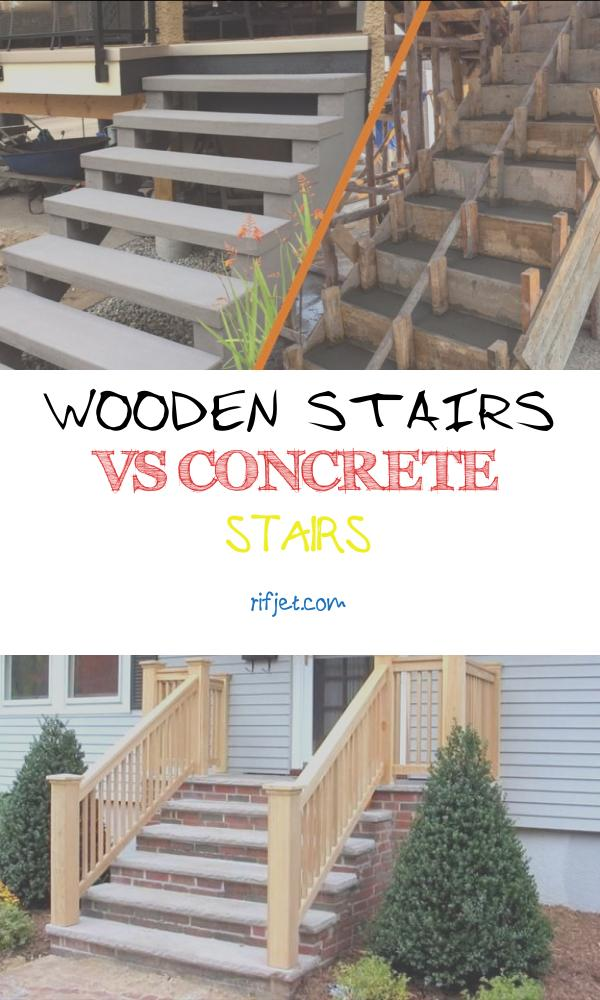 Wooden Stairs Vs Concrete Stairs Awesome Ready Mix Concrete Steps Vs Precast Concrete Stairs