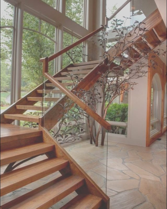 Wooden Stairs with Glass Railing Inspirational 12 Unique and Stunning Wooden Stair Design Ideas You Must
