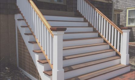 Yard Stairs Design Elegant Very Nice Porch Steps with Wood Treads