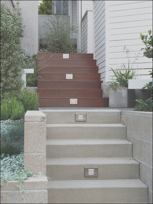 outdoor stairs
